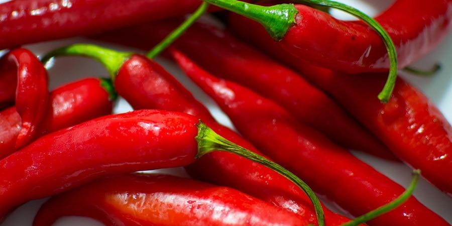 Chilli papricky a kapsaicin